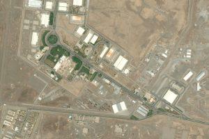 Figura 1 - Foto aerea della centrale di Natanz (Iran)