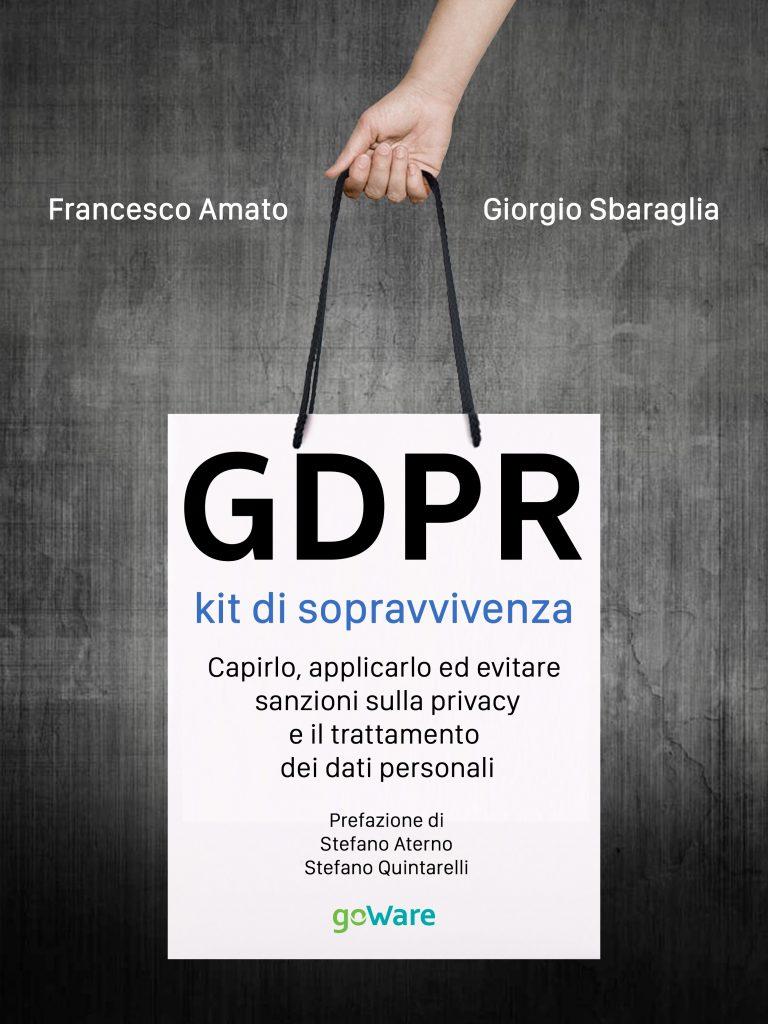 Pubblicato il libro su GDPR per l'editore GoWare
